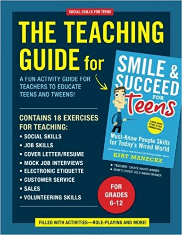 teaching guide for smile and succeed for teens future horizons rh fhautism com Teacher Communication Smile Stamp