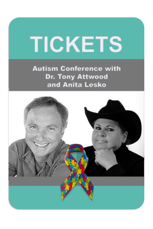 """""""ASD & Bullying: Managing Anxiety and Depression from Childhood to Adulthood"""" with Dr. Tony Attwood and Anita Lesko in Charlotte, NC on October 19, 2018"""