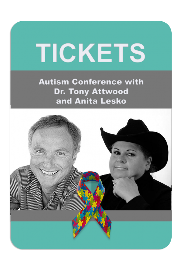 """ASD & Bullying: Managing Anxiety and Depression from Childhood to Adulthood"" with Dr. Tony Attwood and Anita Lesko in Charlotte, NC on October 19, 2018"