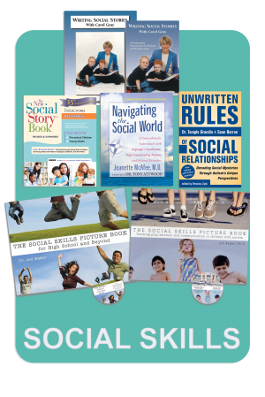 Social Skills Book Package for Autism, Discount