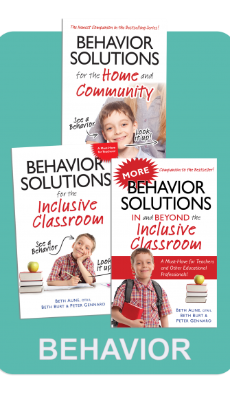 Behavior Solutions / More Behavior Solutions and Behavior Solutions for the Home and Community - BEHAVIOR SOLUTIONS LIBRARY