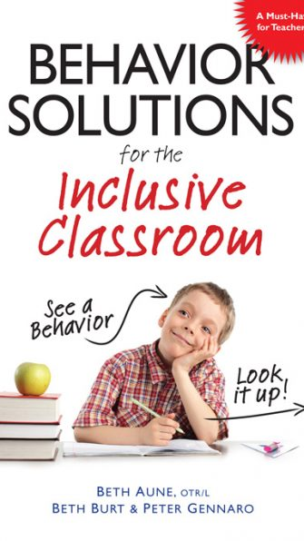 Behavior Solutions for the Inclusive Classroom: See a behavior? Look it up!