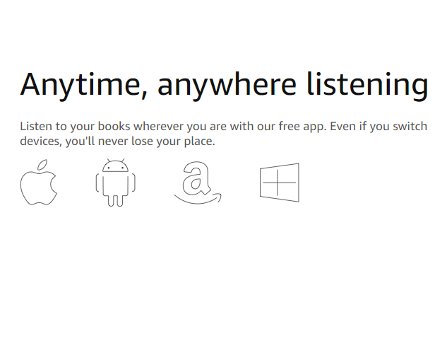 Audible two free books