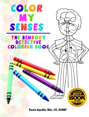 Color My Senses: The Sensory Detective Coloring Book