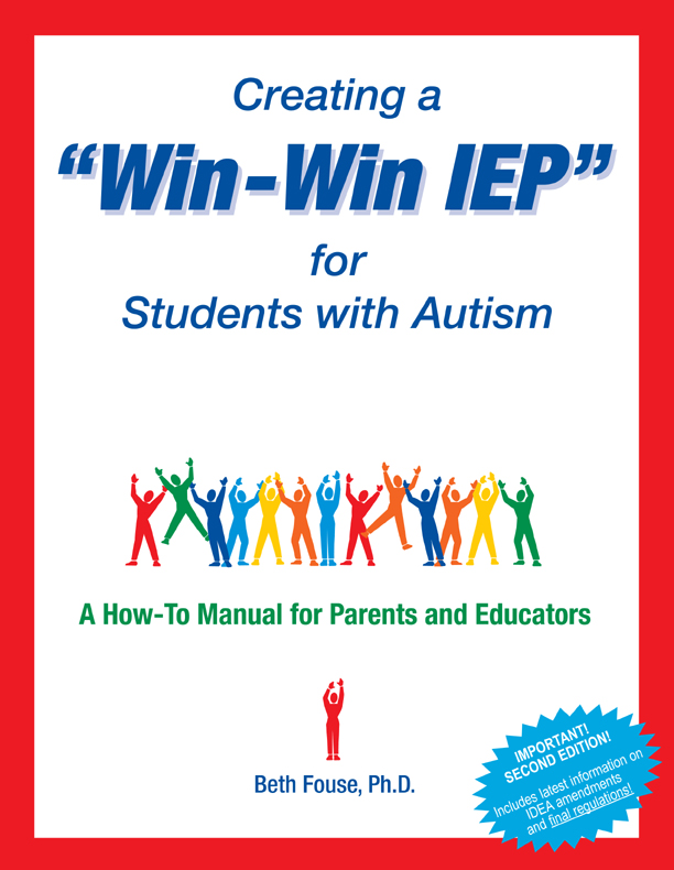 creating a win win iep for students with autism 2nd edition a