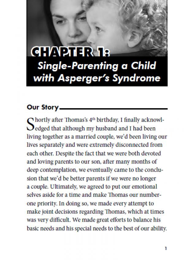 single parents of autism