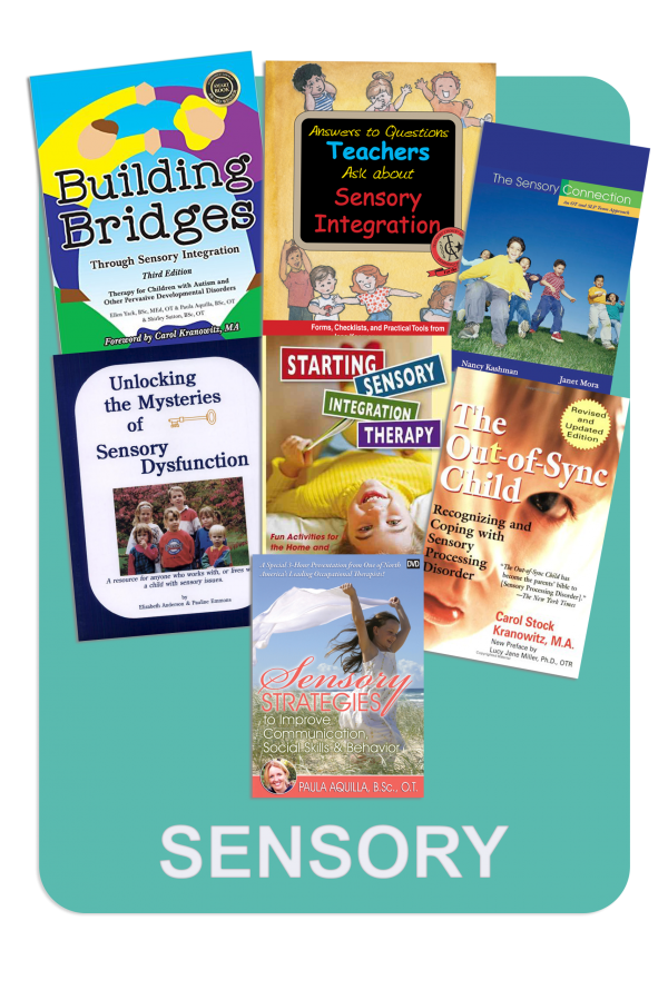 Discounted Sensory Book Package for Sensory Processing Disorder and Autism Spectrum Disorder