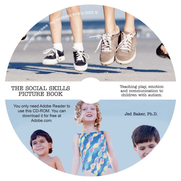 CD only, Book only, The Social Skills Picture Book: Teaching Play, Emotion and Communication to Children with Autism