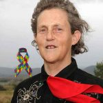 Dr. Temple Grandin, the most famous person with Autism.