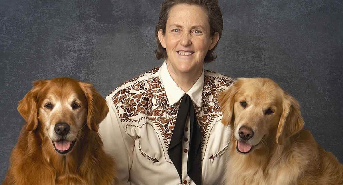 Temple Grandin Animal Rights Welfare with Dogs, (c) Joel Benjamin and Dr. Temple Grandin