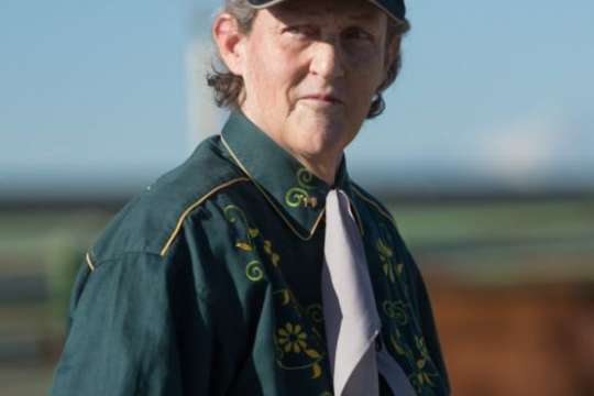 Temple Grandin, named to the National Women's Hall of Fame