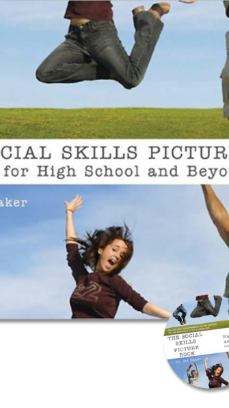 The Social Skills Picture Book and CD for High School and Beyond