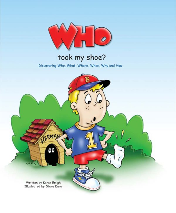 Who Took My Shoe: Discovering Who, What, When, Where, Why, and How